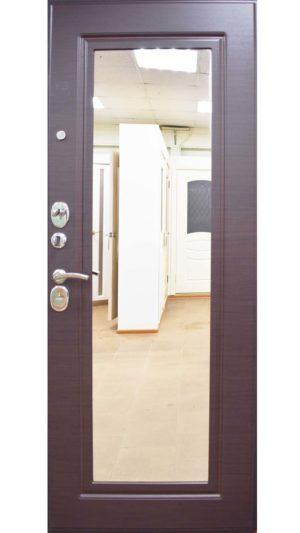 металлическая входная дверь металлическая входная дверь Кова ФЛЗ-5 Венге горизонт, Шелк черный