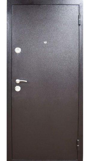 Йошкар металлическая входная дверь темная снаружи