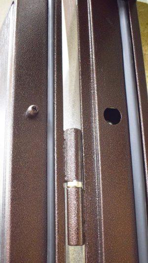 уд - 142 металлическая входная дверь Петли