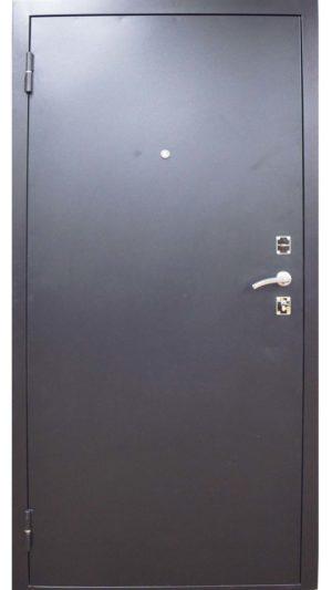 гарда металлическая входная дверь темная снаружи