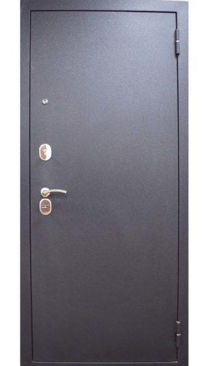 металлическая входная дверь кова в ярославле черный шелк