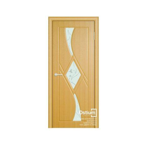 Кристалл (белое) купить межкомнатную дверь
