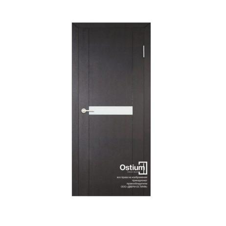 Токио 1 (белый лакобель) купить межкомнатную дверь