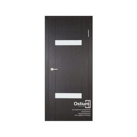 Токио 2 (белый лакобель) купить межкомнатную дверь