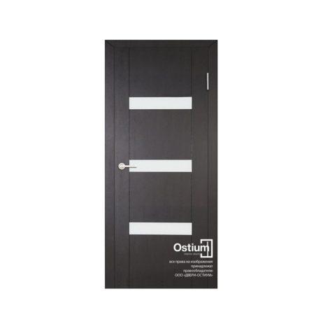 Токио 3 (белый лакобель) купить межкомнатную дверь