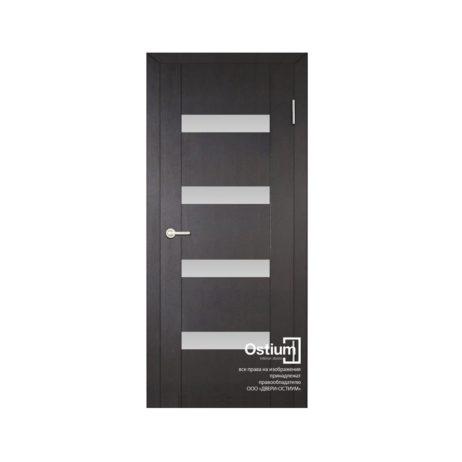 Токио 4 (белый лакобель) купить межкомнатную дверь
