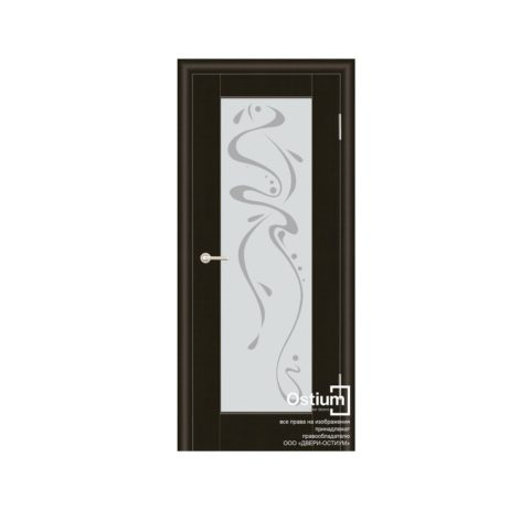 Престиж с худ. рис.(белое) купить межкомнатную дверь