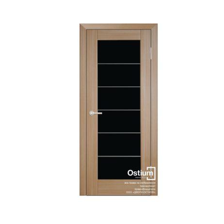 Престиж с молдингами(черное) купить межкомнатную дверь