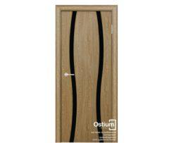 Сириус 2 (черное) купить межкомнатную дверь