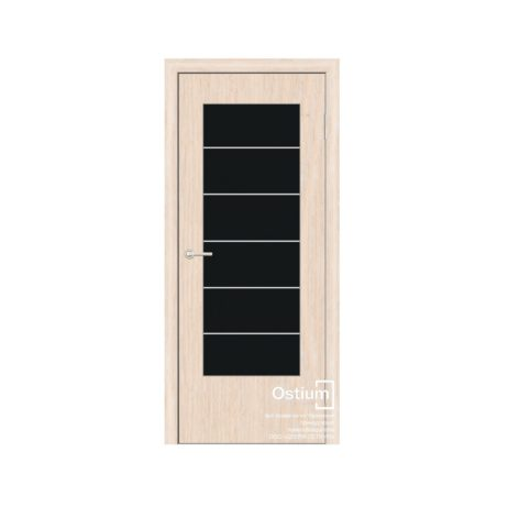 Стиль с молдингами (черное) купить межкомнатную дверь1