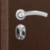 Металлическая входная дверь промет ПРАКТИК МЕТАЛЛ-МЕТАЛЛ замок