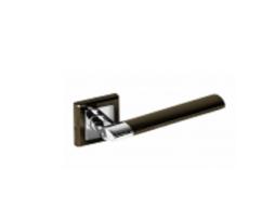 дверная ручка 219BH-PC (черный никель-хром) 900