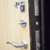 кова фл 04 металлическая входная дверь беленый дуб Замок