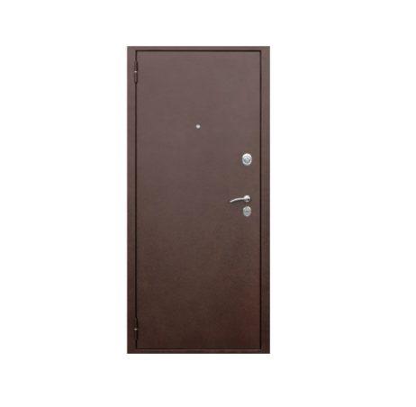 Входная дверь медный антик