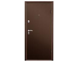 Металлическая входная дверь промет ПРАКТИК МЕТАЛЛ-МЕТАЛЛ внешняя сторона